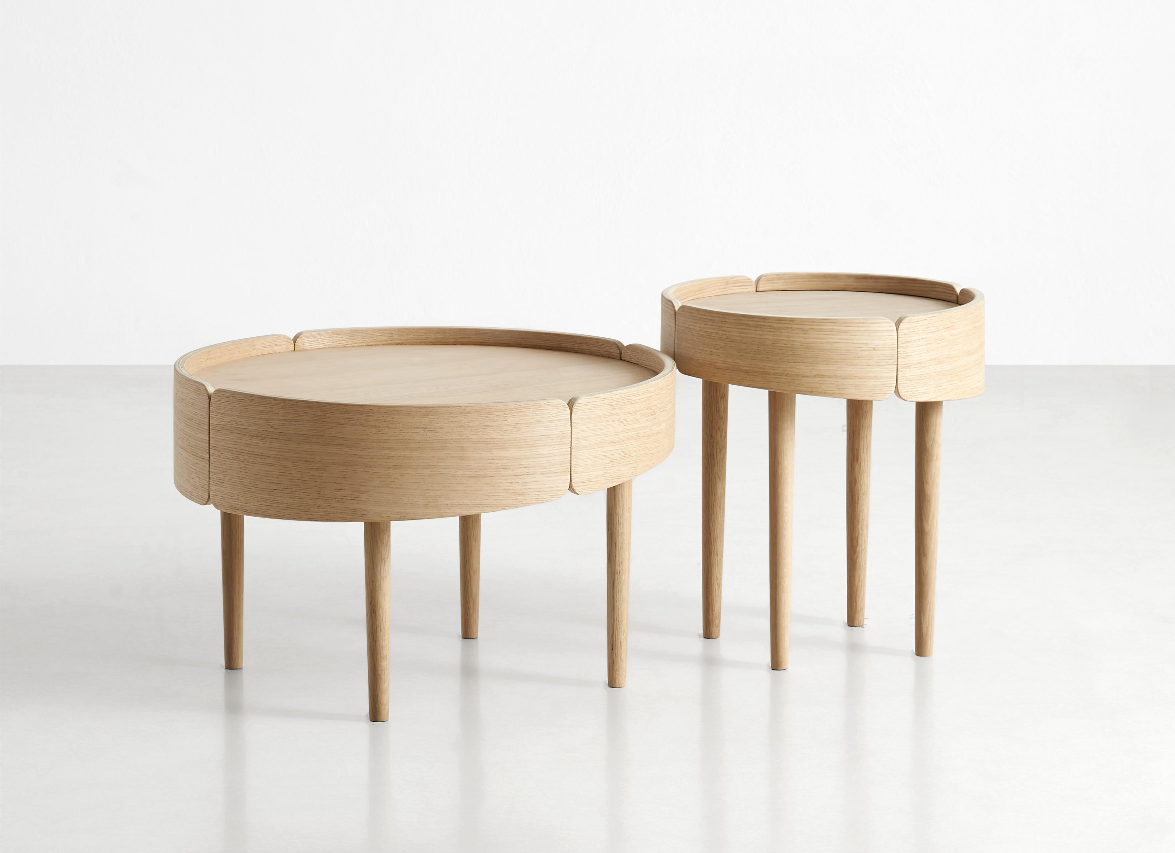 Skirt Table. Designed For Woud By Mikko Laakkonen.