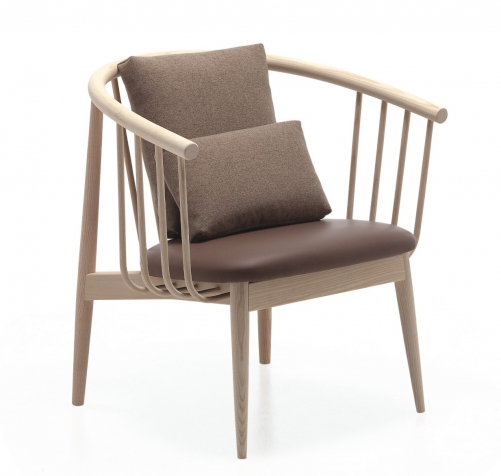 Tivoli lounge Lounge chair. Designed for L´Abbate by Mikko Laakkonen.