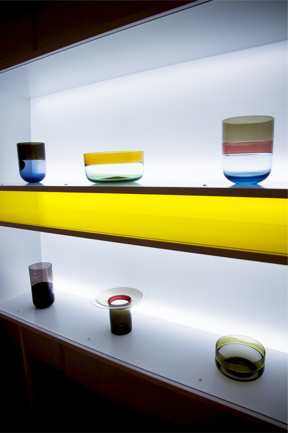 The colours of Venice exhibition Exhibition design. Designed for Tapio Wirkkala Rut Bryk Foundation by Mikko Laakkonen.