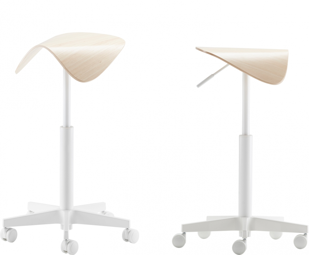 Tutto Active Saddle chair. Designed for Isku by Mikko Laakkonen.