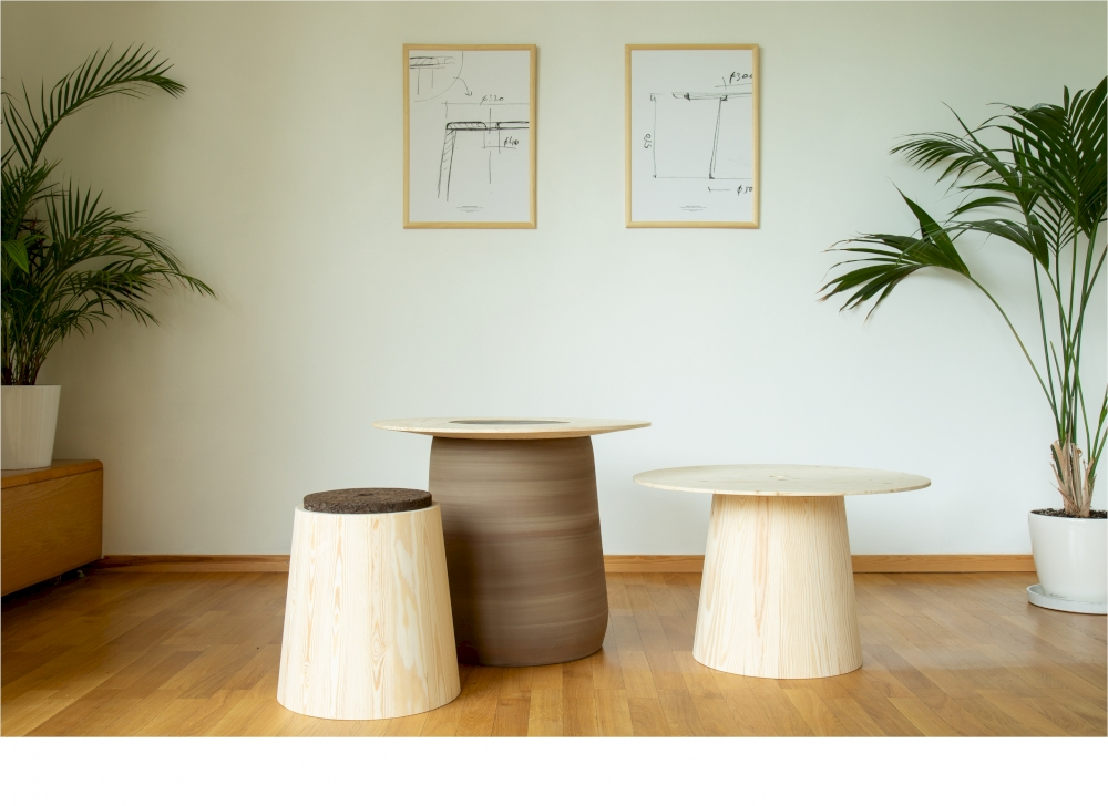 Design Diplomacy collection Sofa, Bench, Table, Stool. Designed for Made by Choice & Mobles114 by Mikko Laakkonen.